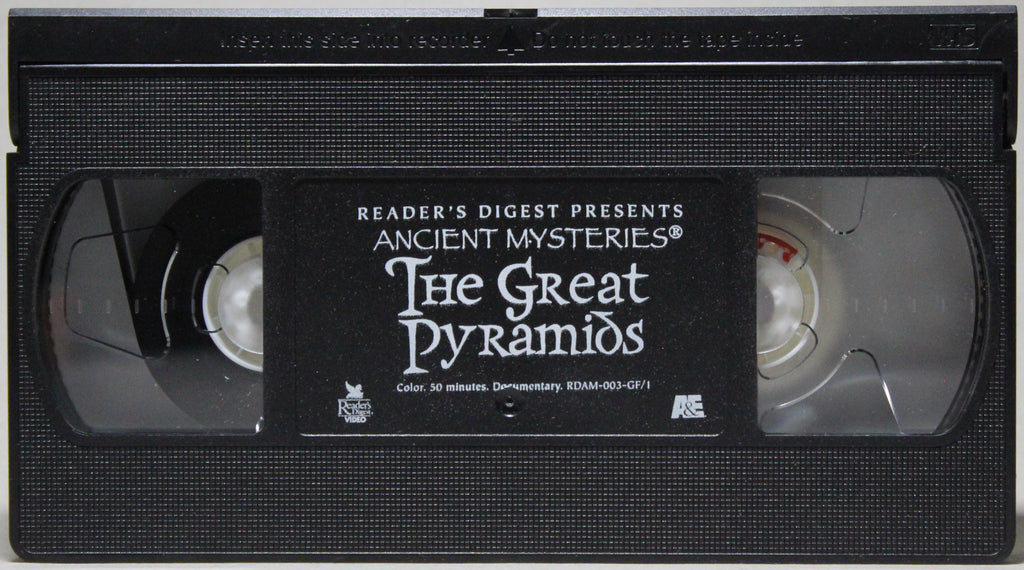 ANCIENT MYSTERIES: THE GREAT PYRAMIDS - VHS: Reader's Digest Video, 1996