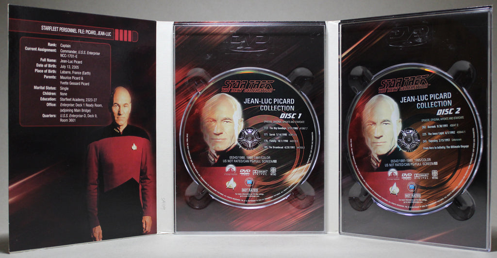 Star Trek the Next Generation: Jean-Luc Picard Collection - DVD: Paramount, 2004