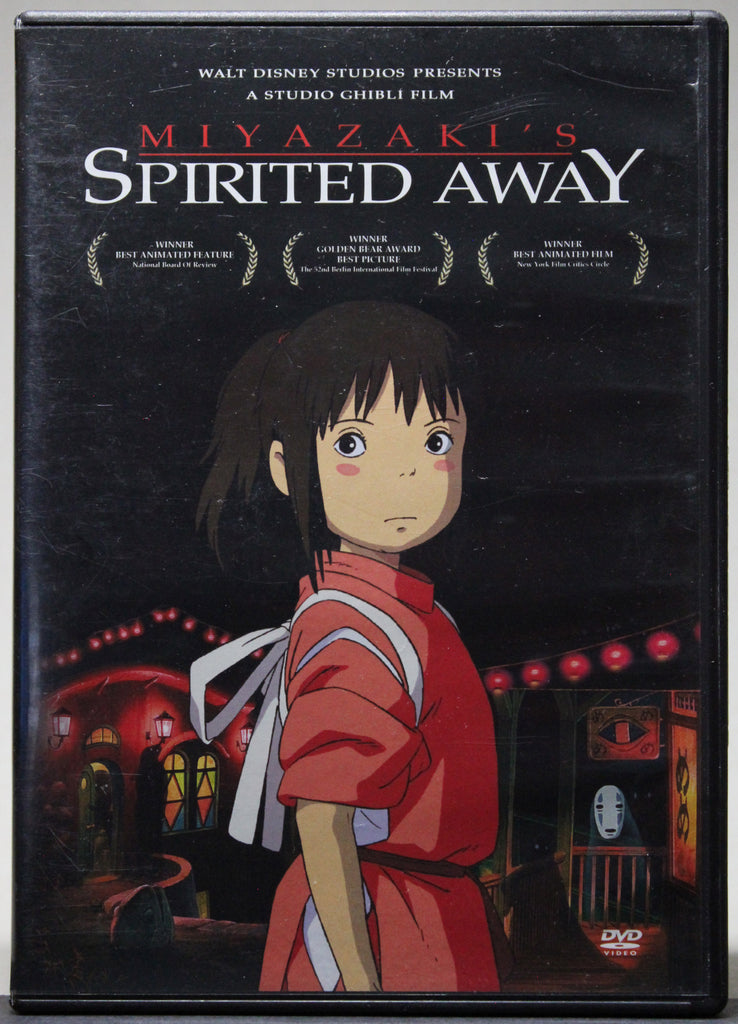 SPIRITED AWAY - DVD: Walt Disney entertainment, 2001