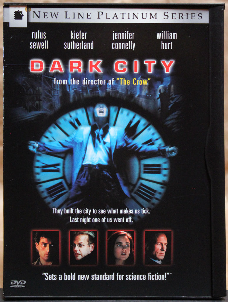 DARK CITY - Snapcase DVD: New Line Home Video, 2001