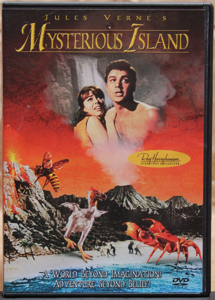 JULES VERNE'S: MYSTERIOUS ISLAND - DVD: Columbia Tri-Star Home Entertainment, 2002