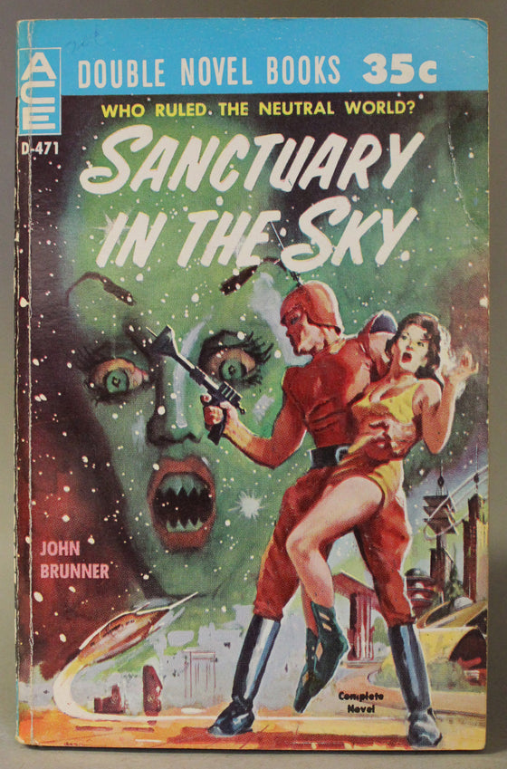 Ace Double: Sanctuary in the Sky / The Secret Martians