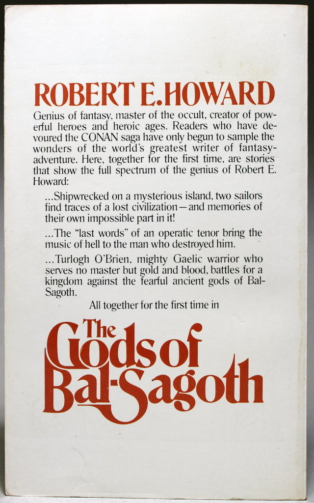 HOWARD, R. E.: The Gods of Bal-Sagoth