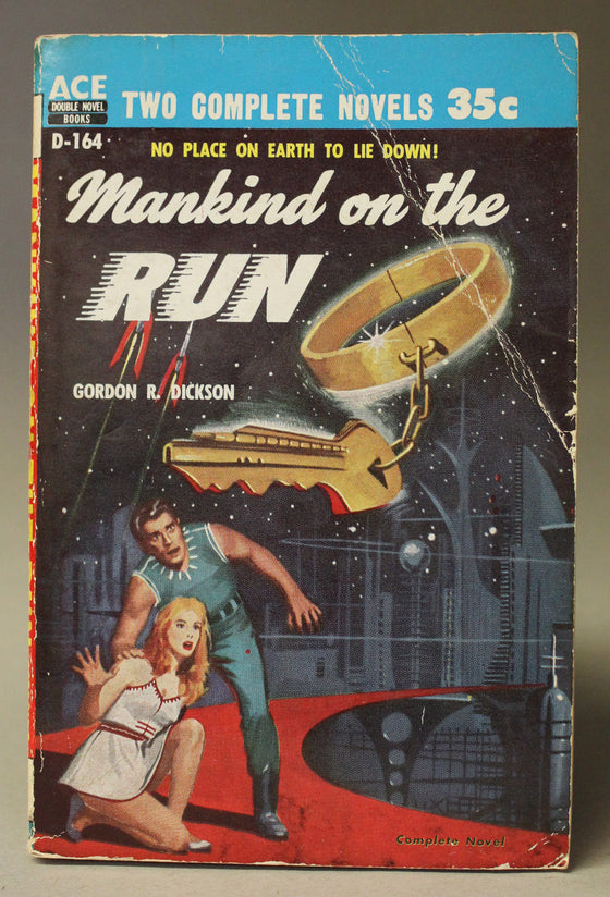Ace Double: Mankind on the Run / The Crossroads of Time