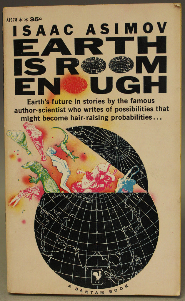 ASIMOV, ISAAC: Earth is Room Enough