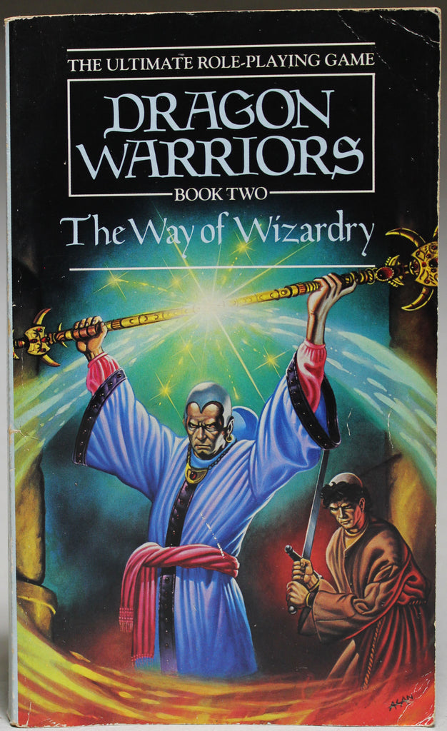 MORRIS, DAVE: Dragon Warriors Book Two: The Way of Wizardry
