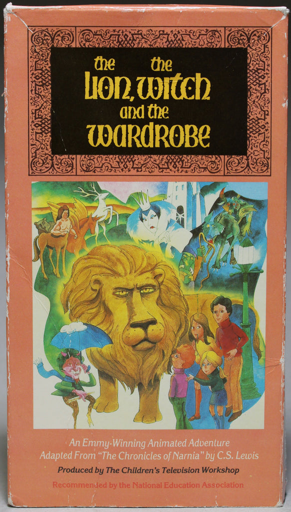 THE LION, THE WITCH AND THE WARDROBE - VHS: Feature Films For Families, 1991
