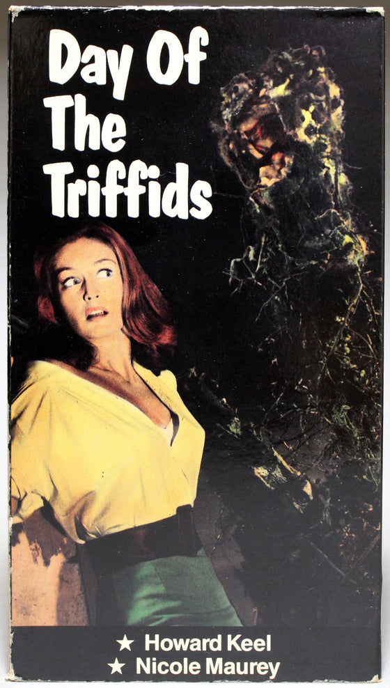 THE DAY OF THE TRIFFIDS - VHS: Video Cassette Sales, Inc., unknown date