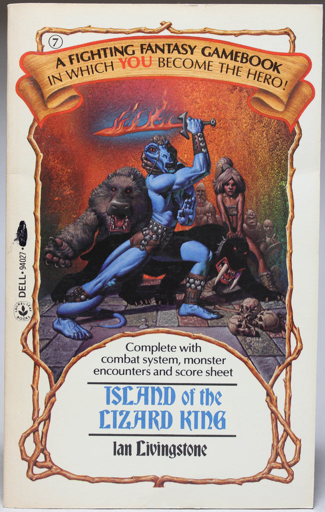 LIVINGSTON, IAN: Fighting Fantasy 7 - Island of the Lizard King