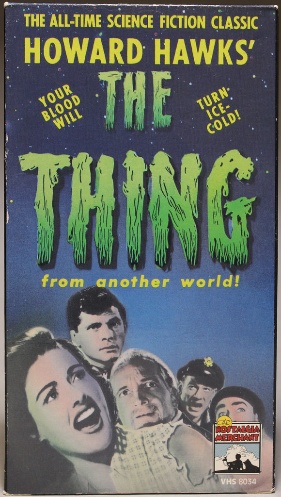 THE THING FROM ANOTHER WORLD - VHS: Media Home Entertainment, Inc., 1985