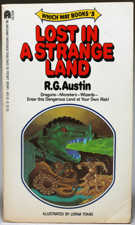 AUSTIN, R. G.: Which Way Books: 5 – Lost in a Strange Land
