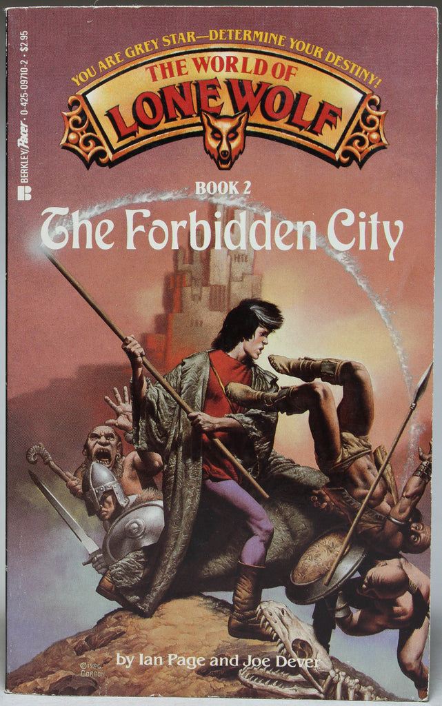 DEVER, JOE & PAGE, IAN: The World of Lone Wolf: Book 2 - The Forbidden City
