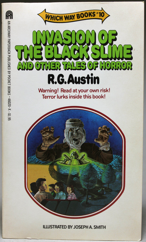 AUSTIN, R. G.: Which Way Books: 10 – Invasion of the Black Slime