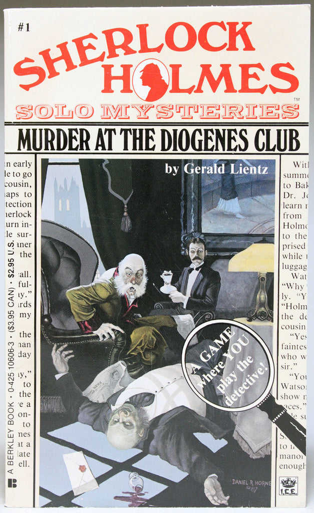 Murder at the Diogenes
