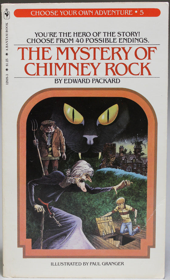 The Mystery of Chimney Rock