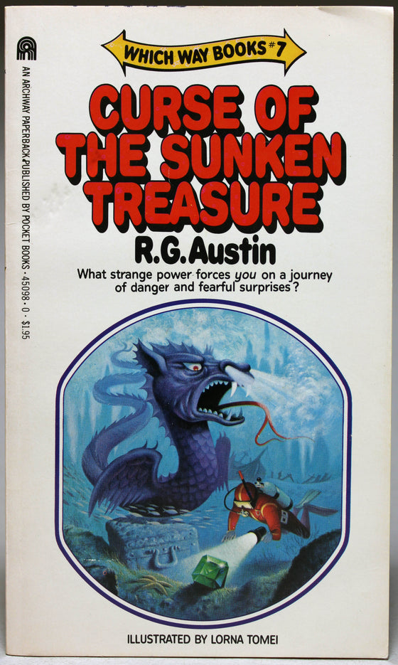 AUSTIN, R. G.: Which Way Books: 7 – Curse of the Sunken Treasure