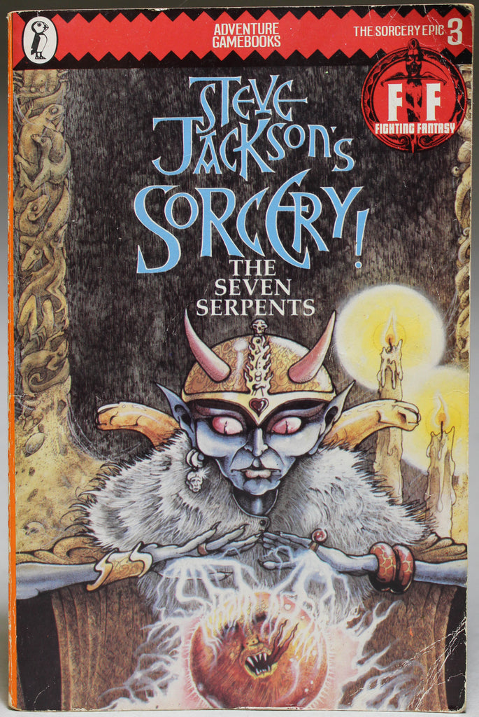 JACKSON, STEVE: Steve Jackson's Sorcery! 3 - The Seven Serpents