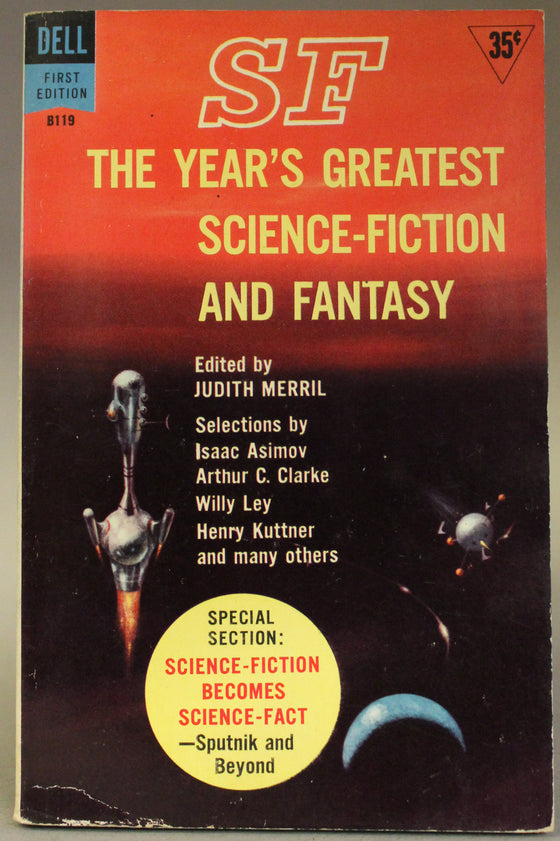 SF The Years Greatest Science-Fiction and Fantasy