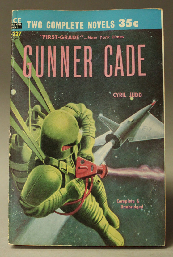 Ace Double: Gunner Cade / Crisis in 2140