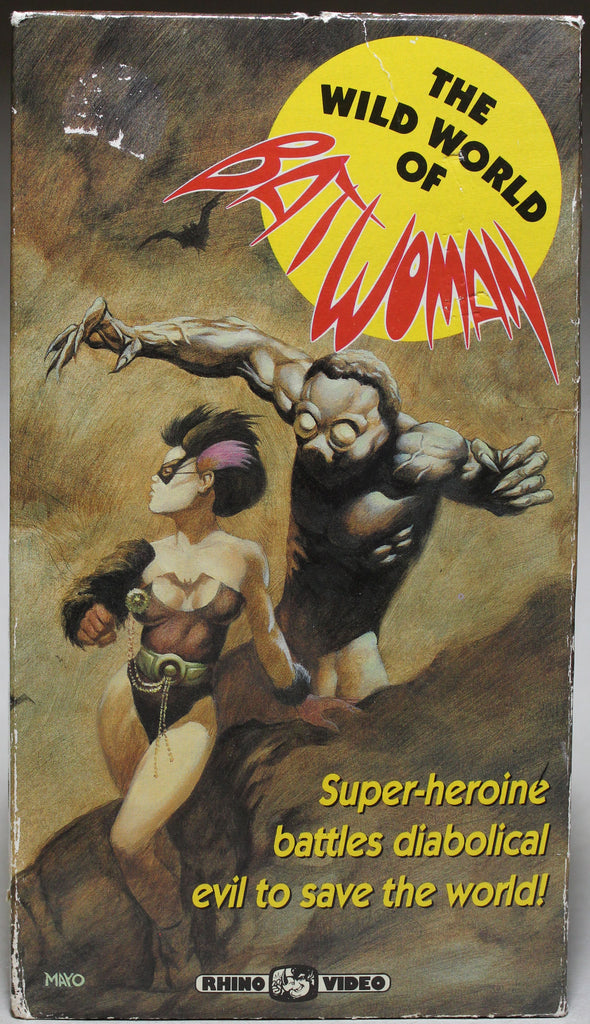 The Wild World of Bat Woman - VHS