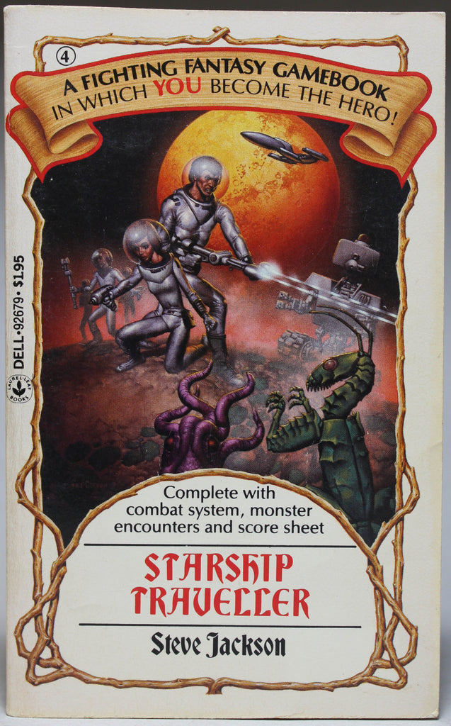 JACKSON, STEVE: Fighting Fantasy 4 - Starship Traveller