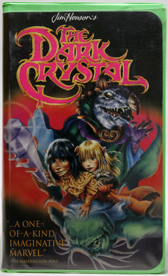 THE DARK CRYSTAL - VHS: Jim Henson Video, 1994