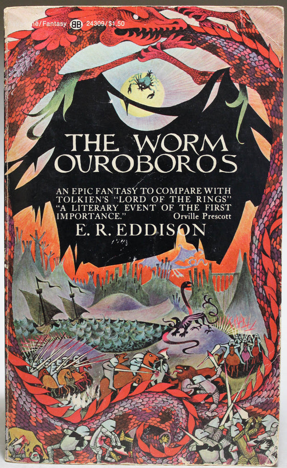 EDDISON, E. R.: The Worm Ouroboros