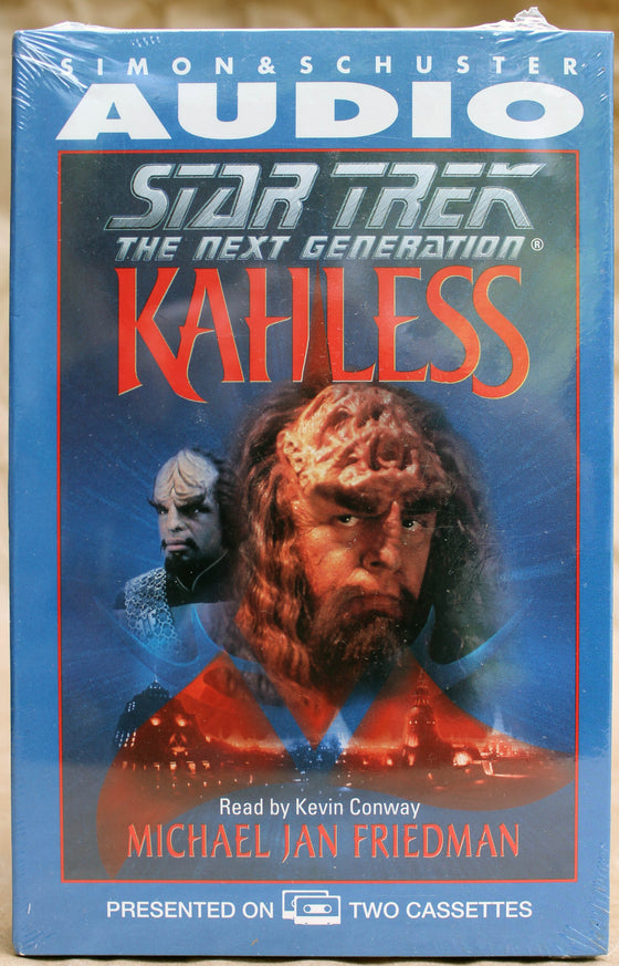 STAR TREK: THE NEXT GENERATION: KAHLESS - Audio Cassette (sealed): Simon & Schuster Audio, 1996