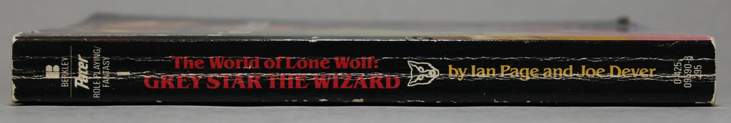 DEVER, JOE & PAGE, IAN: The World of Lone Wolf: Book 1 - Gray Star the Wizard