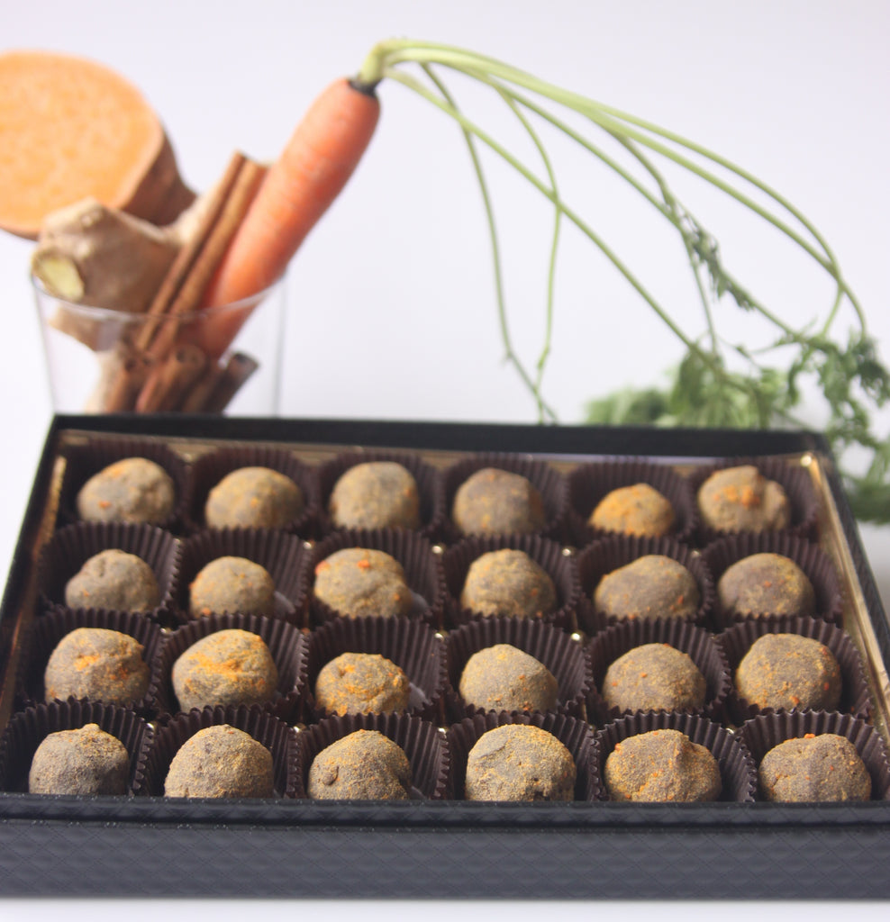 """Cocoa Cocoa for Carrots"" Chocolate Truffles"