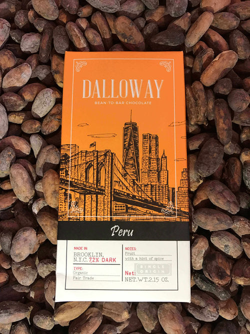 Peru - 72% Dark Chocolate (Single Origin)