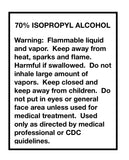70% Isopropyl Alcohol, 8 Ounce Bottle, Medical Grade Antiseptic Rubbing Alcohol