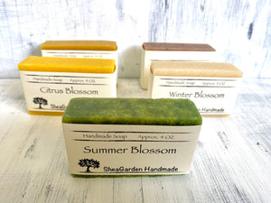 Handmade Soap, 3 Pack Bundle, 4OZ Each