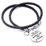 The Love Between A Mother And Son Is Forever - Hand Stamped Bracelet (Shipped From USA)