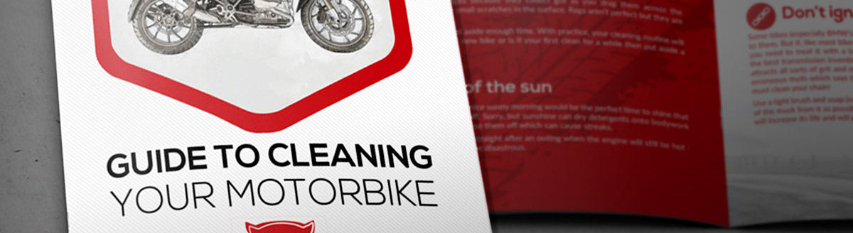 How to clean my motorbike - guide