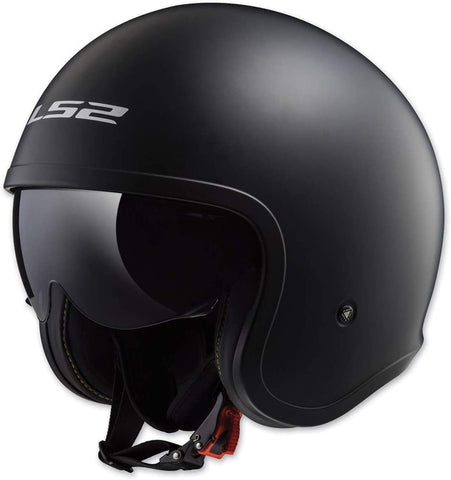 Spitfire Solid Open Face Motorcycle Helmet