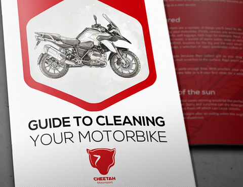 Guide: How to clean your motorbike