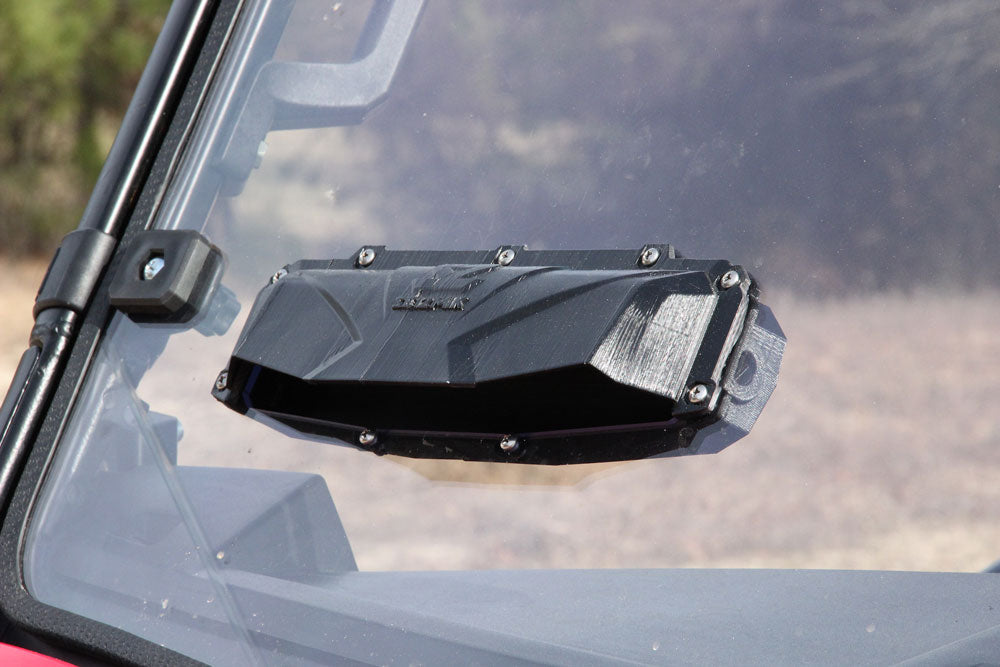 Windshield Full Vent Hard Coated Polycarbonate