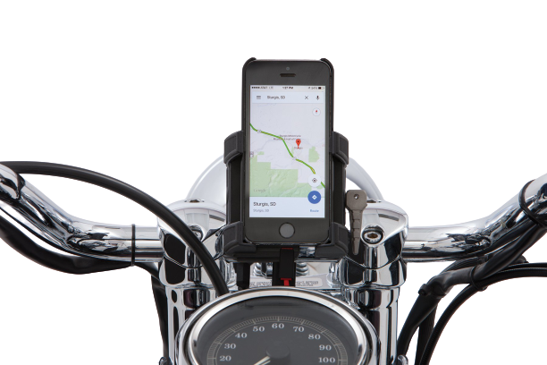 Smartphone/GPS Premium Holder with With Charger