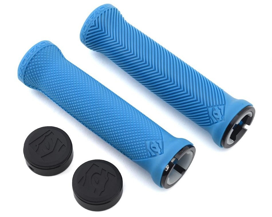 Race Face Love Handle Grips Blue