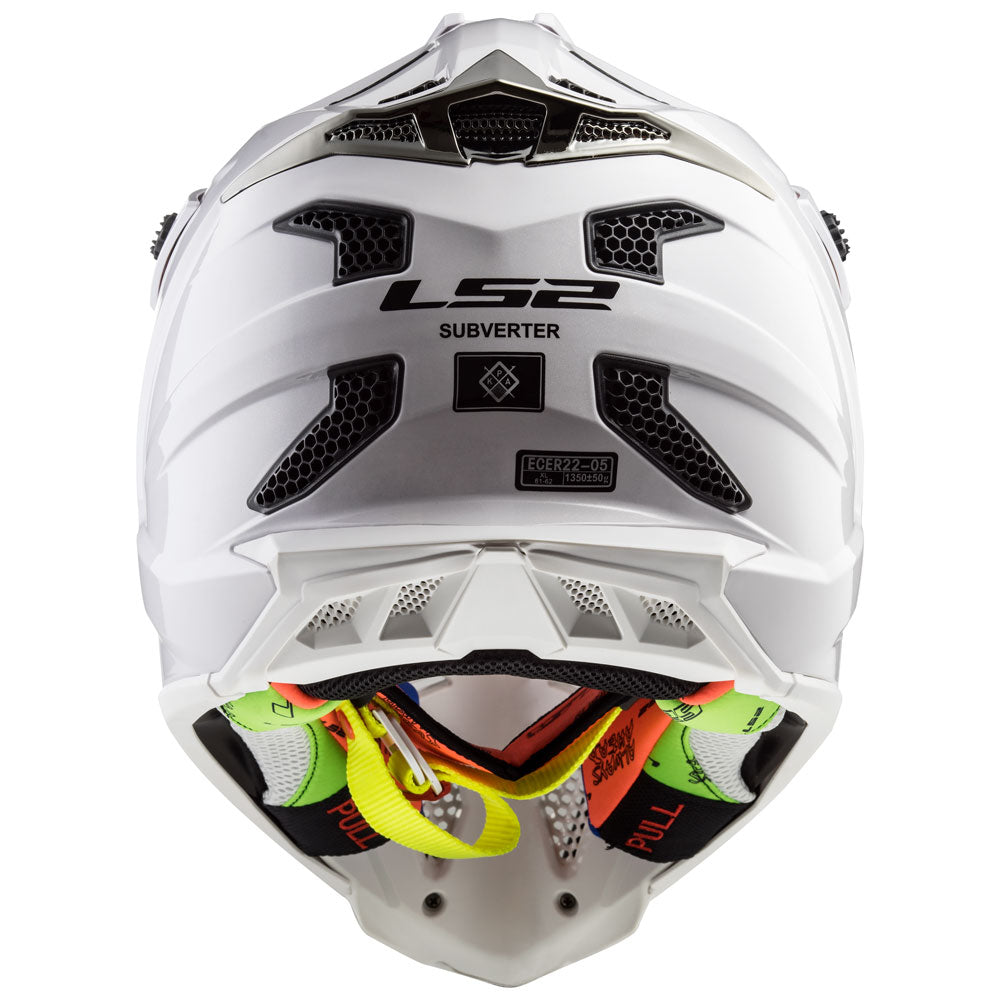 Subverter Solid Full Face MX Motorcycle Helmet