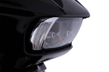 Fang LED Headlight Bezel - Chrome