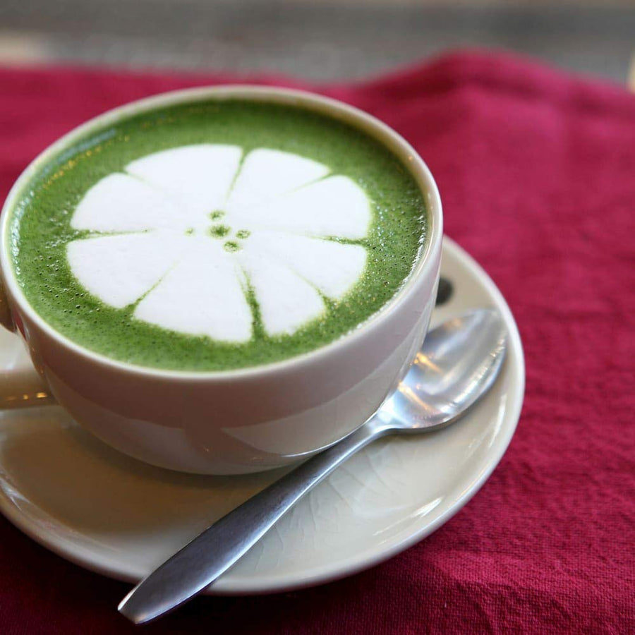 Green Superfood Latte