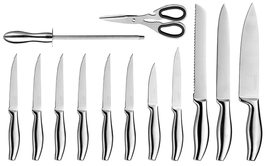 Kitchen Knife Set 14-Piece with Acrylic Stand