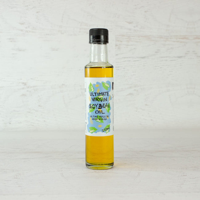 Cold-pressing Soybean Virgin Oil, cholesterol-free, omega fatty acids