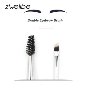Double Eyebrow Brush with Brow Comb