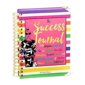 Success Journal Candy Stripe