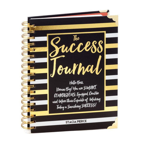 Success Journal Black & Gold