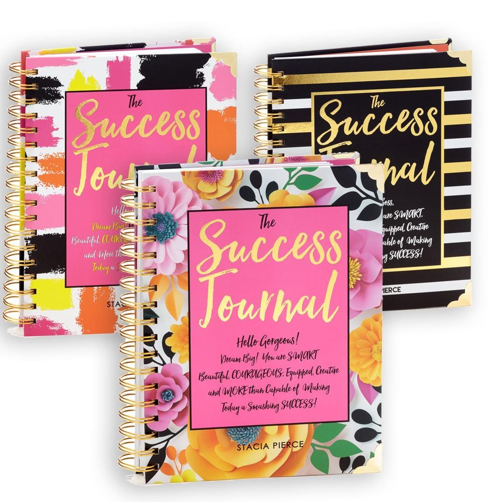 3 Success Journals Bundle