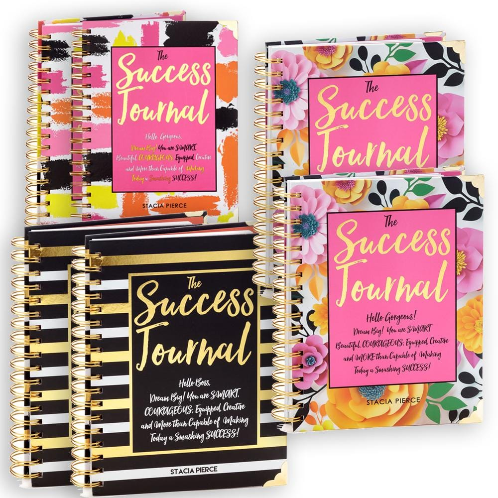 6 Success Journals Bundle
